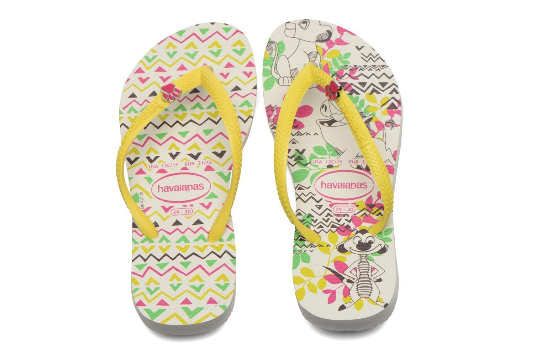 Tongs Havaianas Kids Slim Disney Cool Multicolore vue portées chaussures