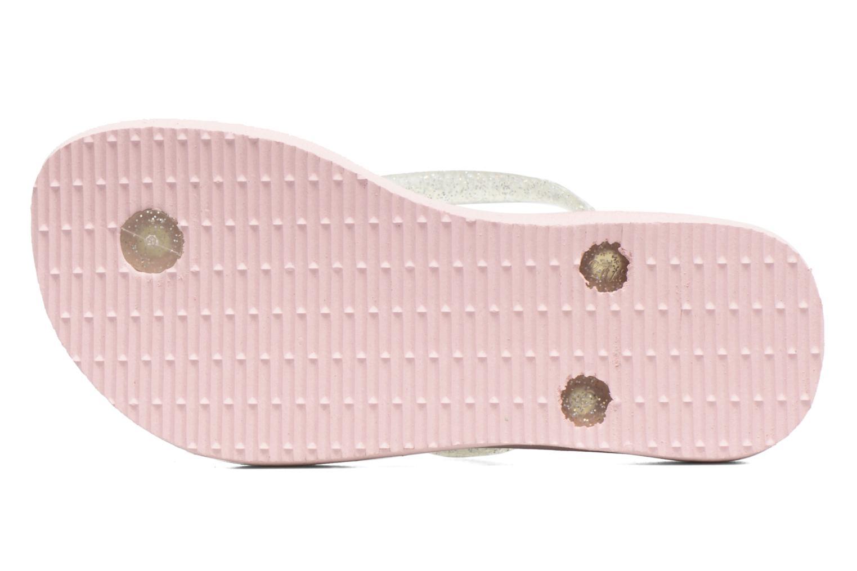 Flip flops Havaianas Kids Slim Frozen Pink view from above
