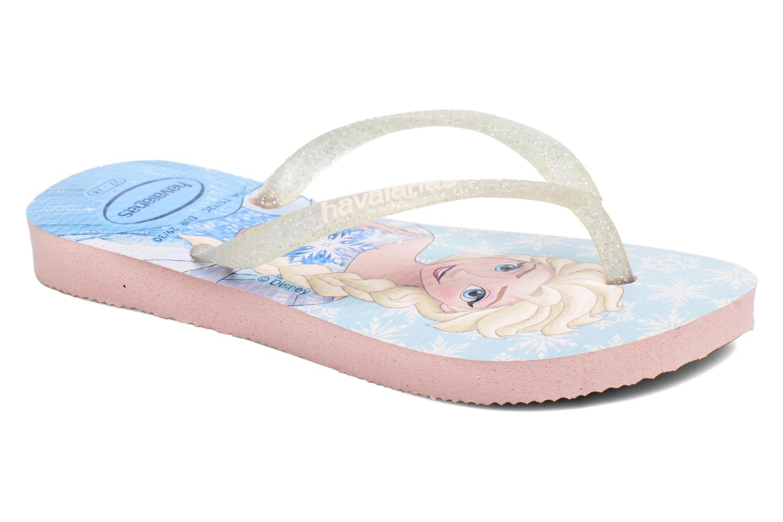 Flip flops Havaianas Kids Slim Frozen Pink detailed view/ Pair view