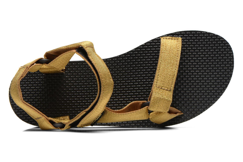 Sandalen Teva Flatform Universal gold/bronze ansicht von links