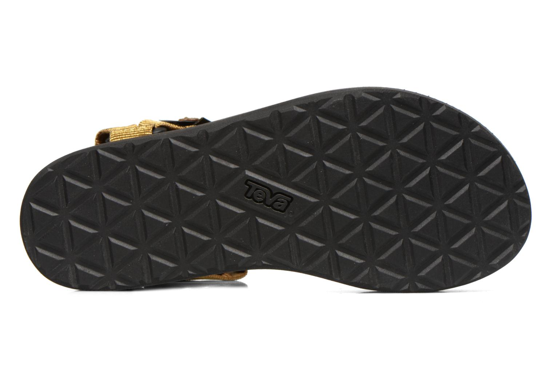 Sandalen Teva Flatform Universal Goud en brons boven