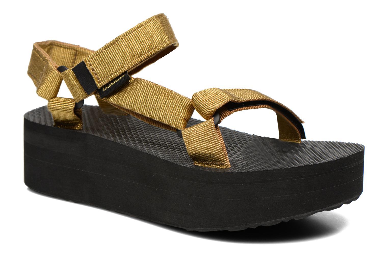 Sandalen Teva Flatform Universal gold/bronze detaillierte ansicht/modell
