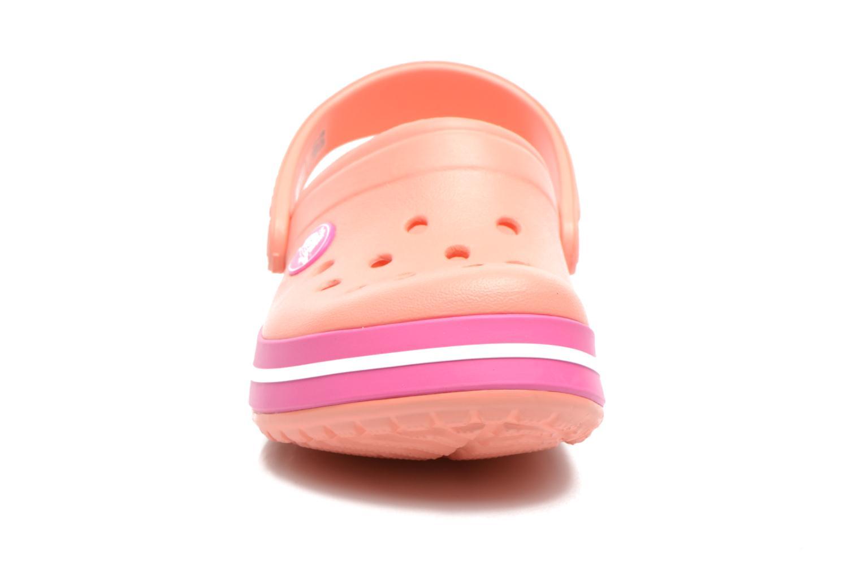 Sandalen Crocs CrocbandKids rosa schuhe getragen
