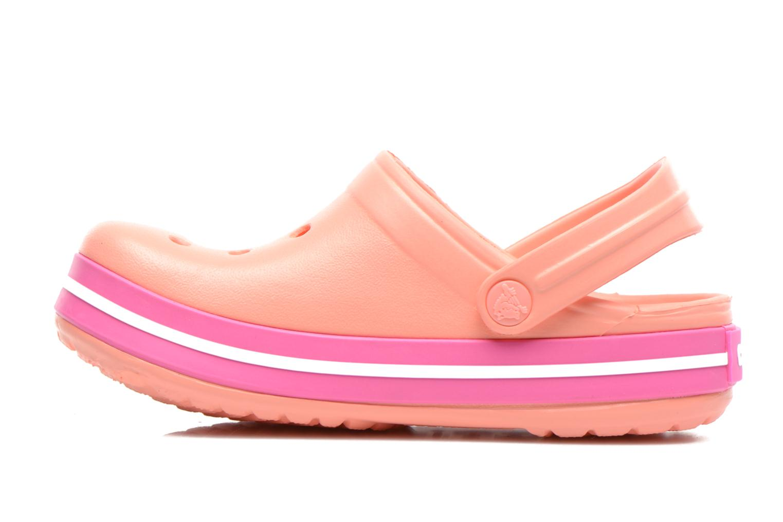 Sandalen Crocs CrocbandKids rosa ansicht von vorne