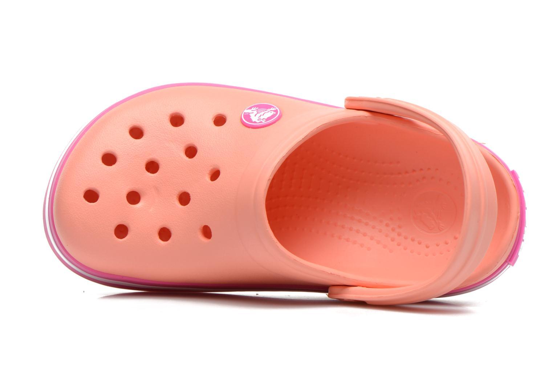 Sandalen Crocs CrocbandKids rosa ansicht von links