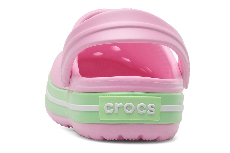 Sandales et nu-pieds Crocs CrocbandKids Rose vue droite
