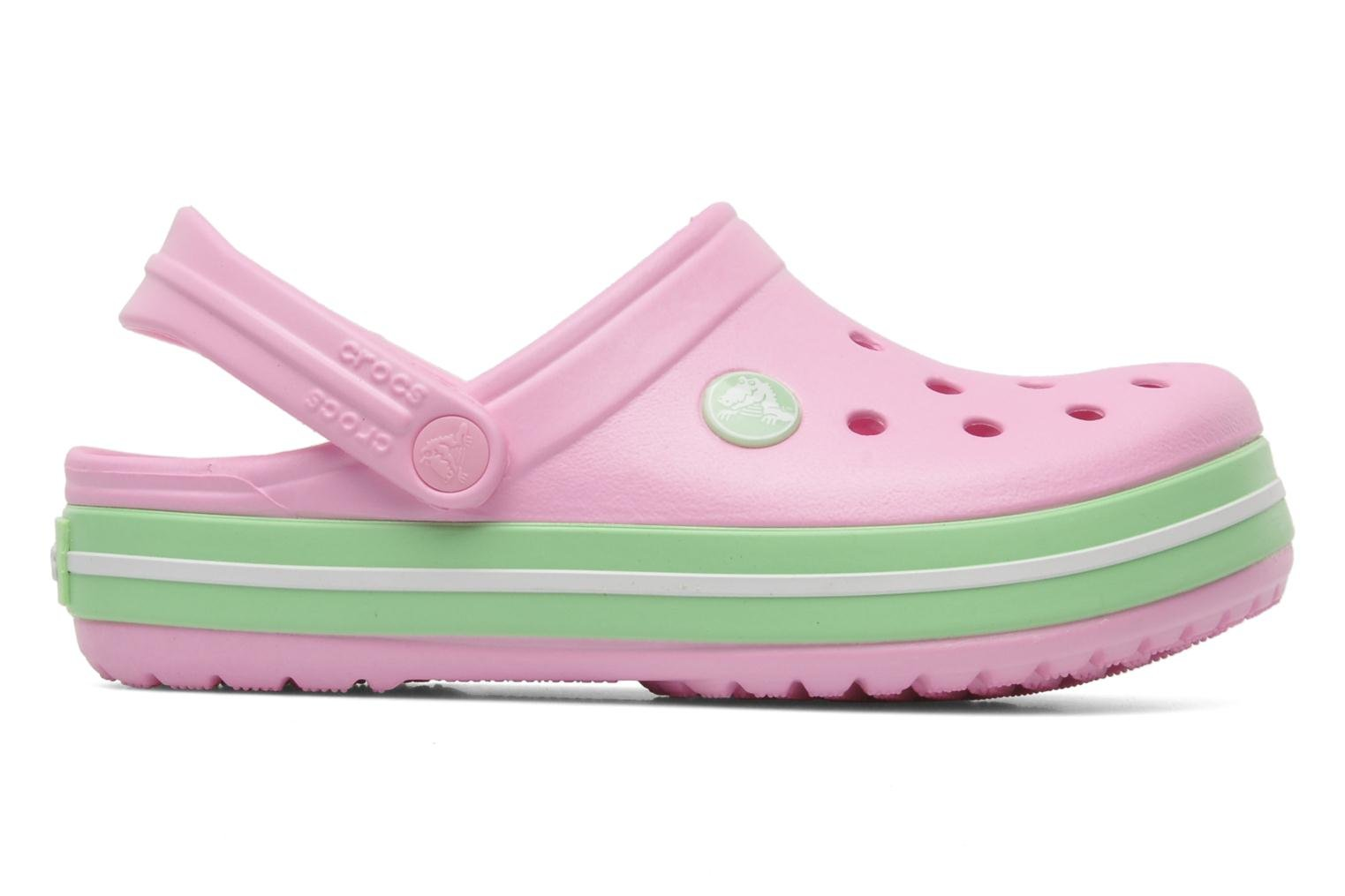 Crocband Kids Carnation/Green Glo