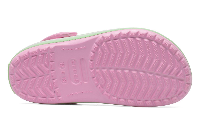 Sandalen Crocs CrocbandKids rosa ansicht von oben