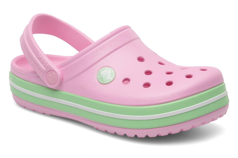 Sandalen Crocs CrocbandKids rosa detaillierte ansicht/modell