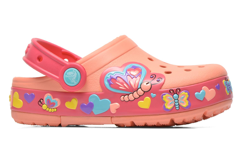 Sandales et nu-pieds Crocs CrocsLightsButterflyClogPS Rose vue derrière