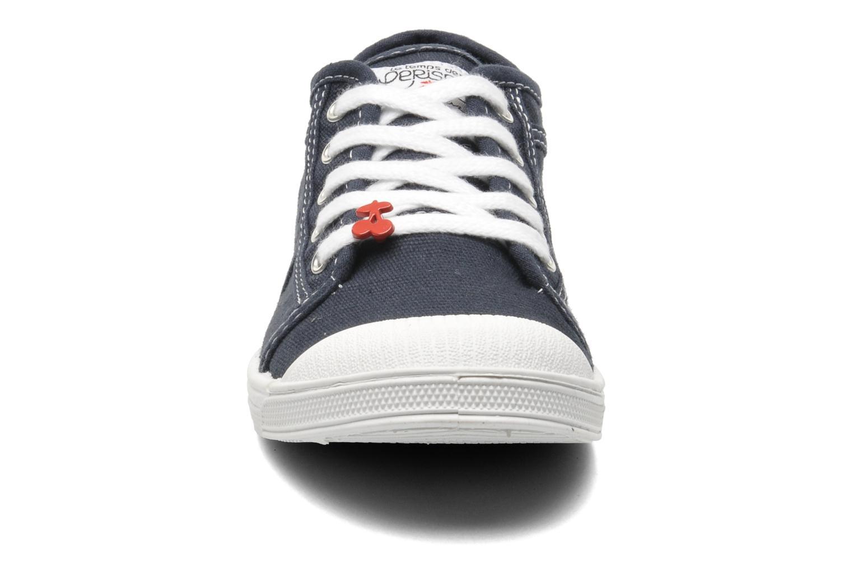 Baskets Le temps des cerises Lc Basic 02 Bleu vue portées chaussures