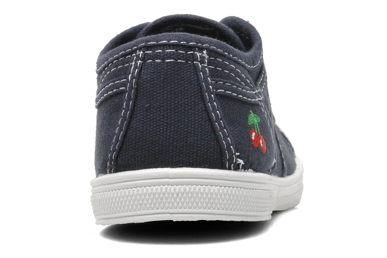Sneakers Le temps des cerises Lc Basic 02 Azzurro immagine destra