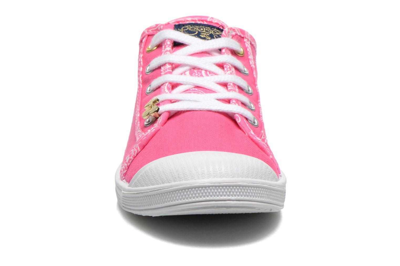 Baskets Le temps des cerises Lc Basic 02 Rose vue portées chaussures