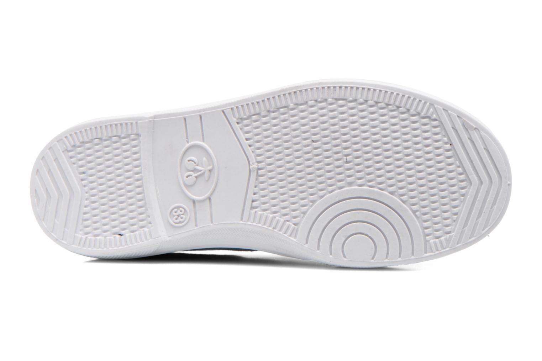 Sneakers Le temps des cerises Lc Basic 02 Azzurro immagine dall'alto