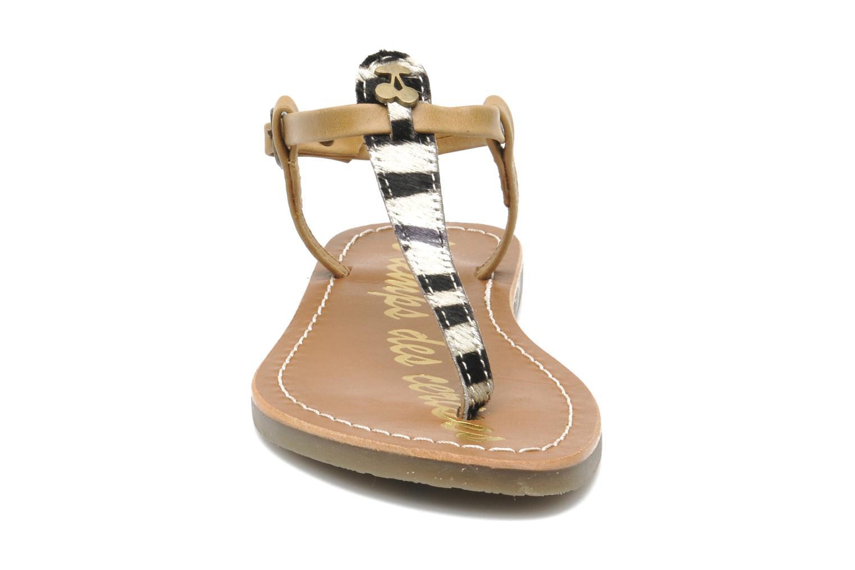 Sandalen Le temps des cerises LC CHLOE beige schuhe getragen