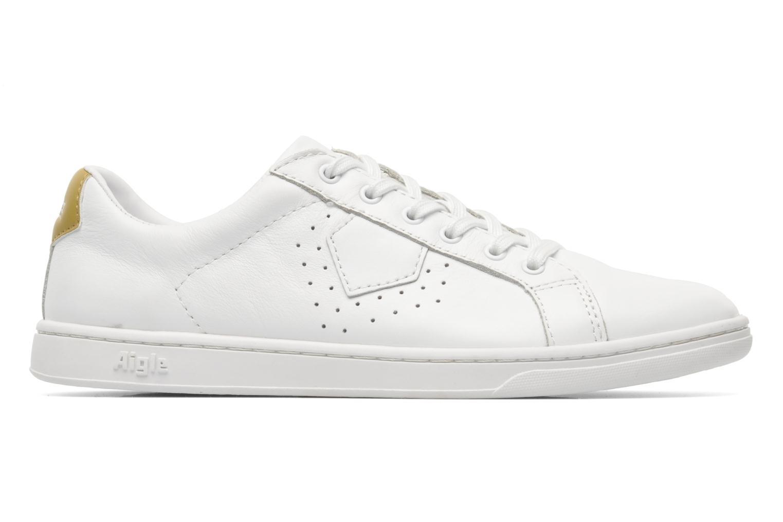 Sneaker Aigle Yarden Time weiß ansicht von hinten