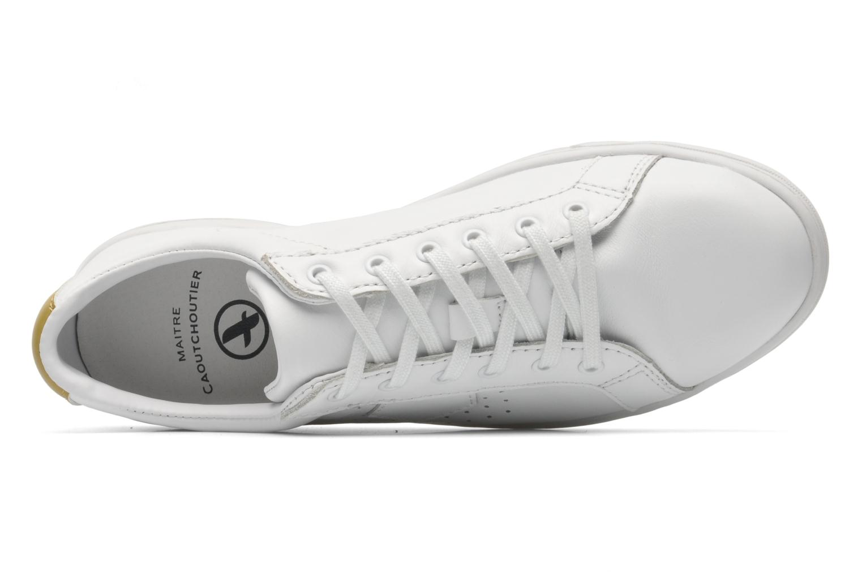 Sneaker Aigle Yarden Time weiß ansicht von links