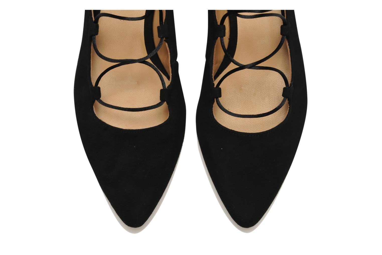 Ballerines Made by SARENZA Seven Tease #3 Noir vue portées chaussures