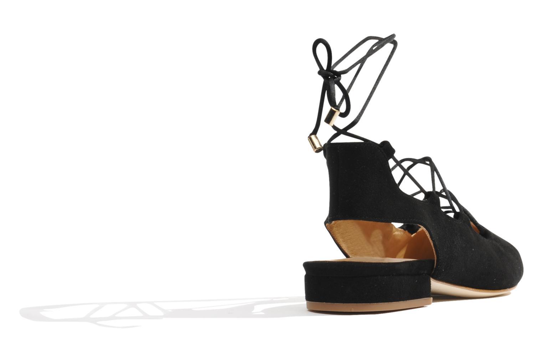 Ballerinas Made by SARENZA Seven Tease #3 schwarz ansicht von vorne