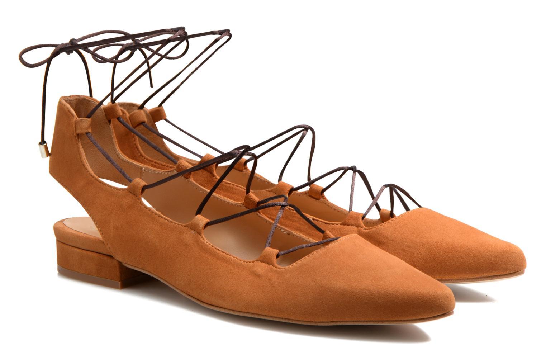 Ballerinas Made by SARENZA Seven Tease #3 braun ansicht von hinten
