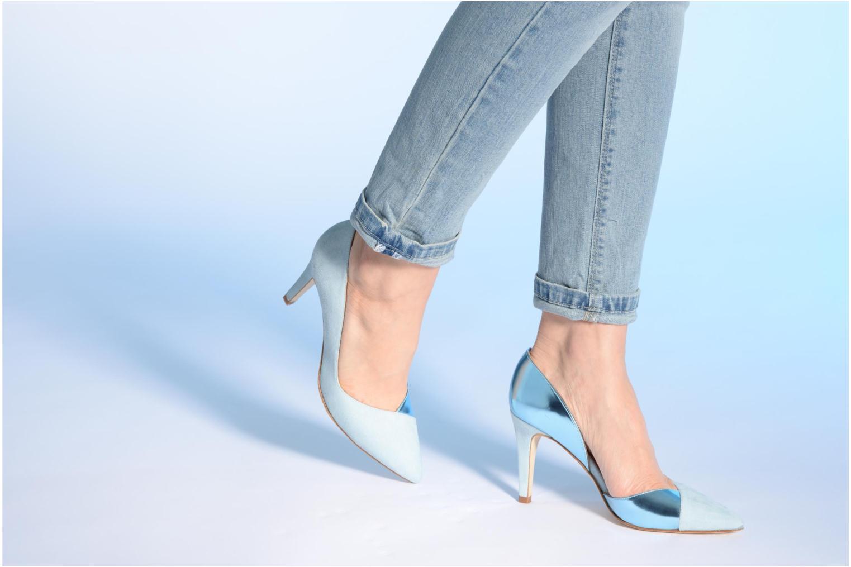 Zapatos de tacón Made by SARENZA Roudoudou #6 Azul vista de abajo