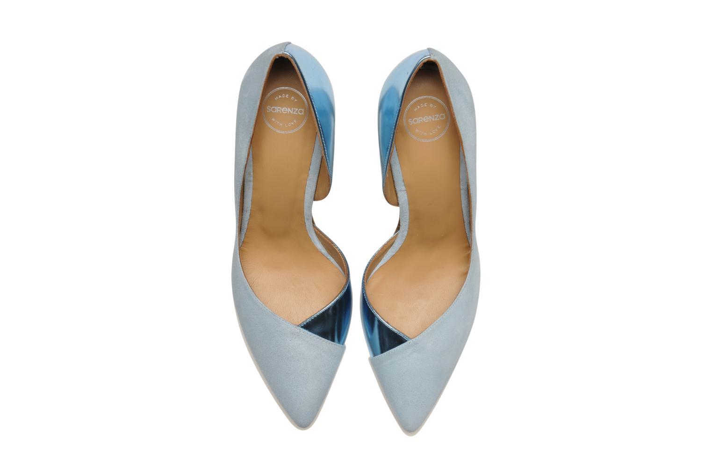 Zapatos de tacón Made by SARENZA Roudoudou #6 Azul vista del modelo