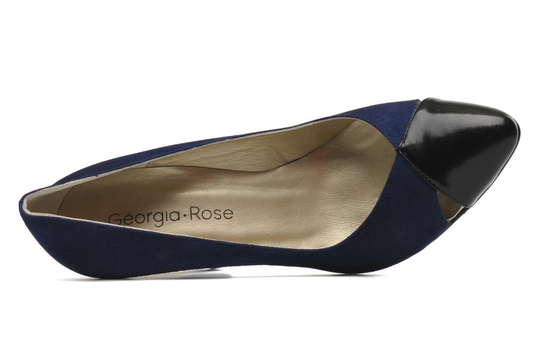 Escarpins Georgia Rose Myosotis Bleu vue gauche