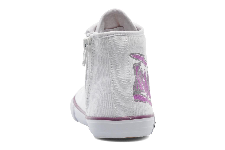 Sneaker Kangaroos KangaVulcT 2053 weiß ansicht von rechts