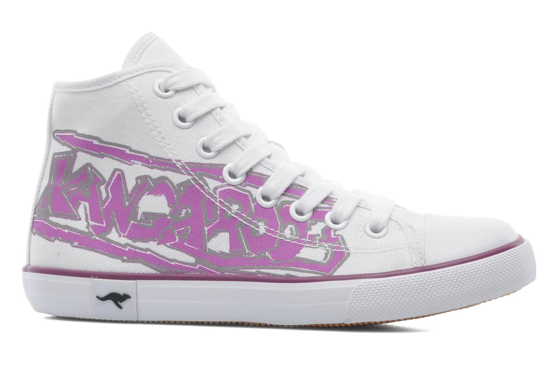 Sneakers Kangaroos KangaVulcT 2053 Hvid se bagfra