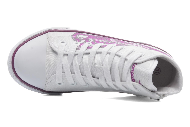 Sneaker Kangaroos KangaVulcT 2053 weiß ansicht von links