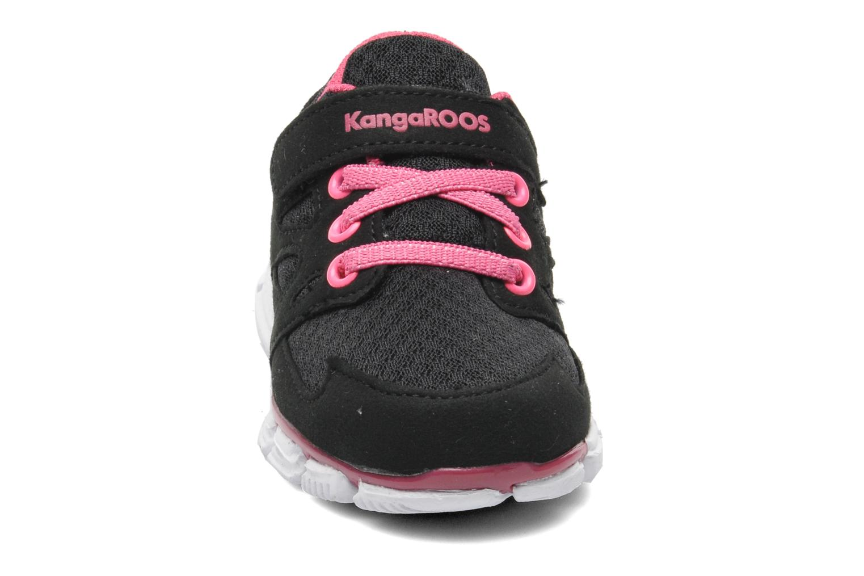 Baskets Kangaroos Inlite 2073 Noir vue portées chaussures