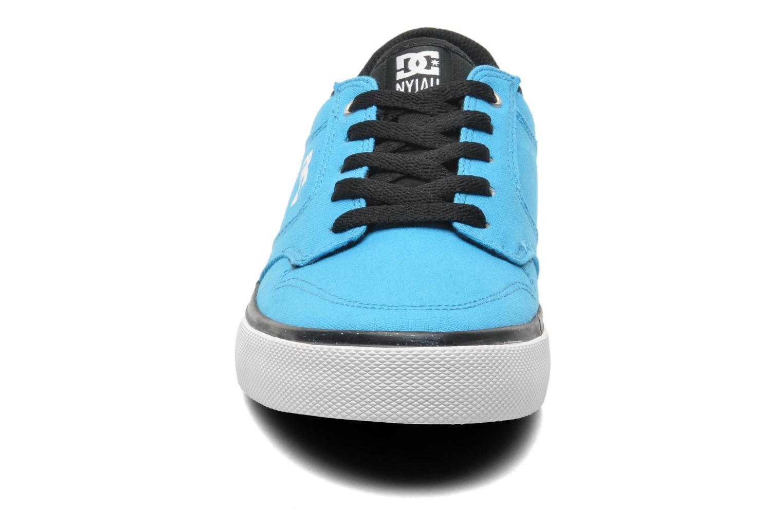 Sneaker DC Shoes NYJAH VULC TX blau schuhe getragen