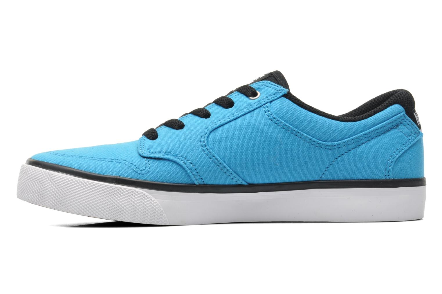 Baskets DC Shoes NYJAH VULC TX Bleu vue face