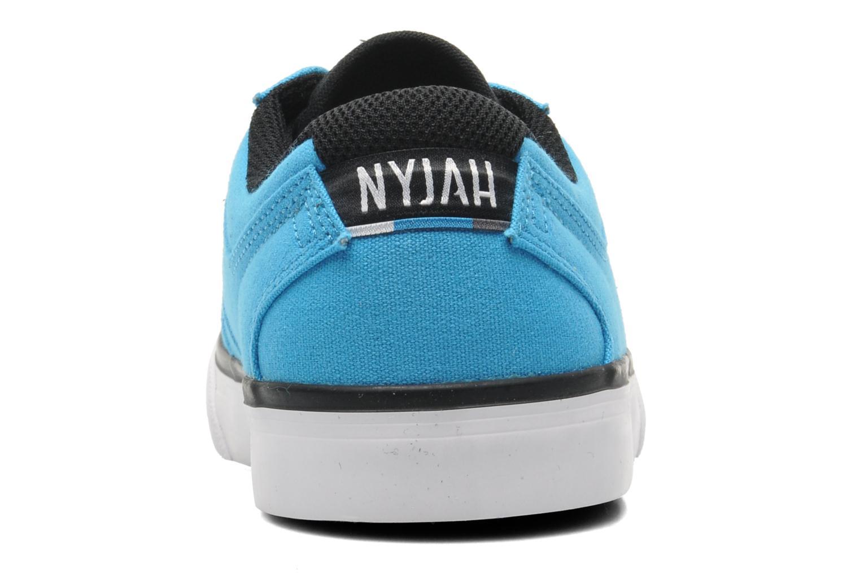 Sneaker DC Shoes NYJAH VULC TX blau ansicht von rechts