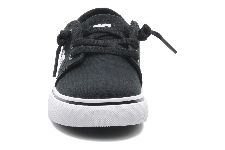 Deportivas DC Shoes TRASE TX Toddler Negro vista del modelo