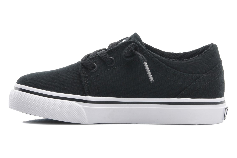 Deportivas DC Shoes TRASE TX Toddler Negro vista de frente