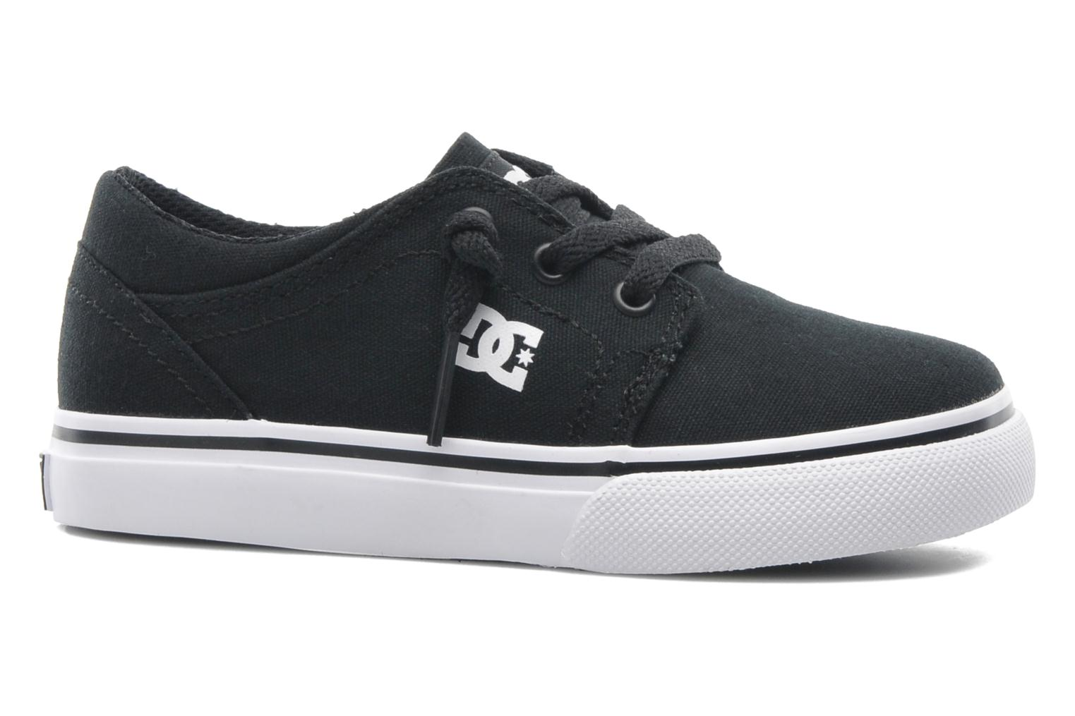 Baskets DC Shoes TRASE TX Toddler Noir vue derrière