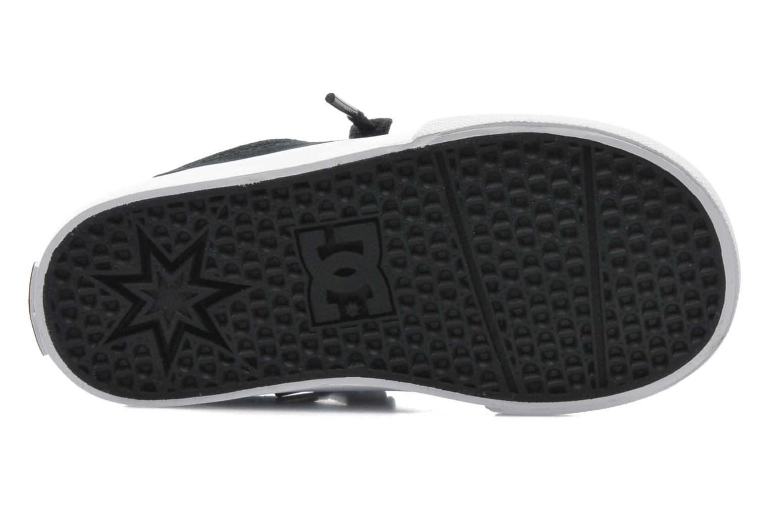 Trainers DC Shoes TRASE TX Toddler Black view from above