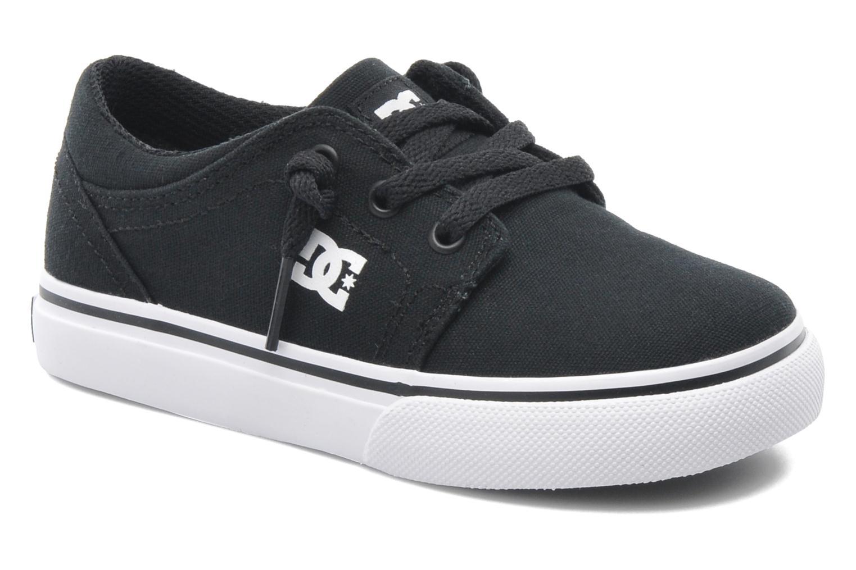 Deportivas DC Shoes TRASE TX Toddler Negro vista de detalle / par