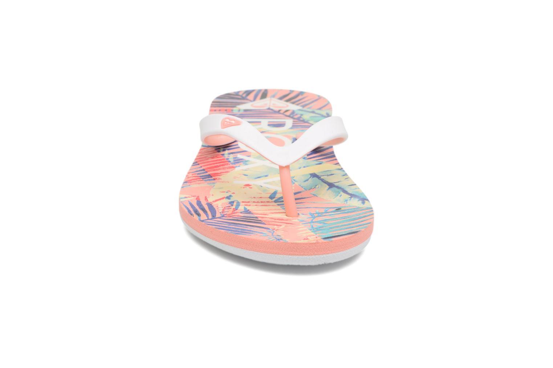 Tongs Roxy Rg Tahiti V Multicolore vue portées chaussures