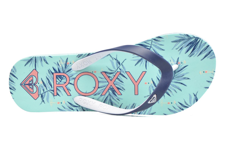 Tongs Roxy Rg Tahiti V Bleu vue gauche