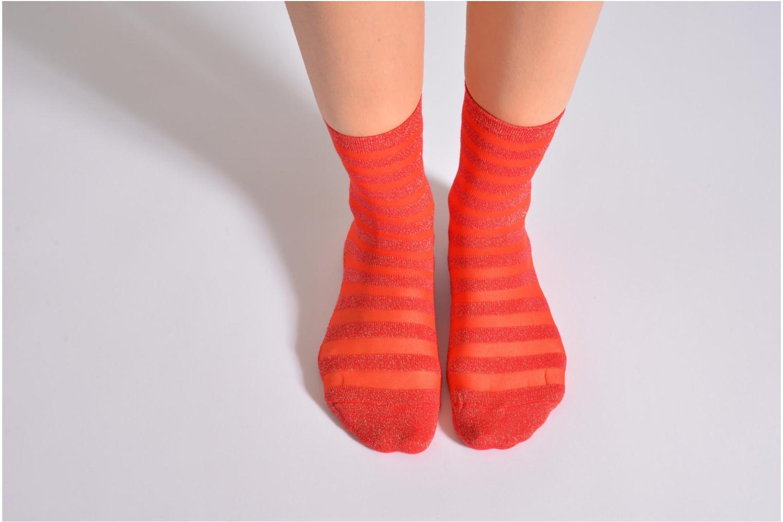 Calze e collant My Lovely Socks Faustine Rosso immagine dall'alto