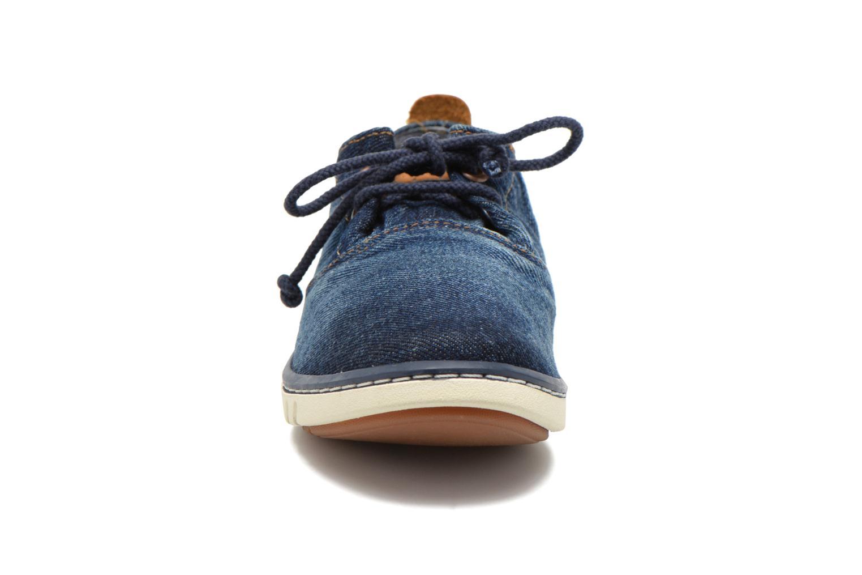 Baskets Timberland Hookset Handcrafted Ox Bleu vue portées chaussures