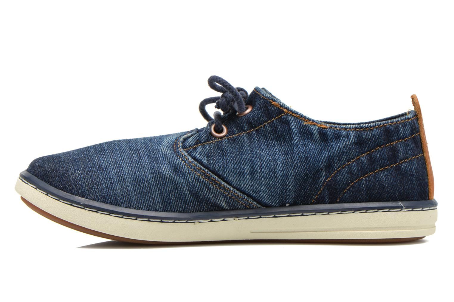 Trainers Timberland Hookset Handcrafted Ox Blue front view
