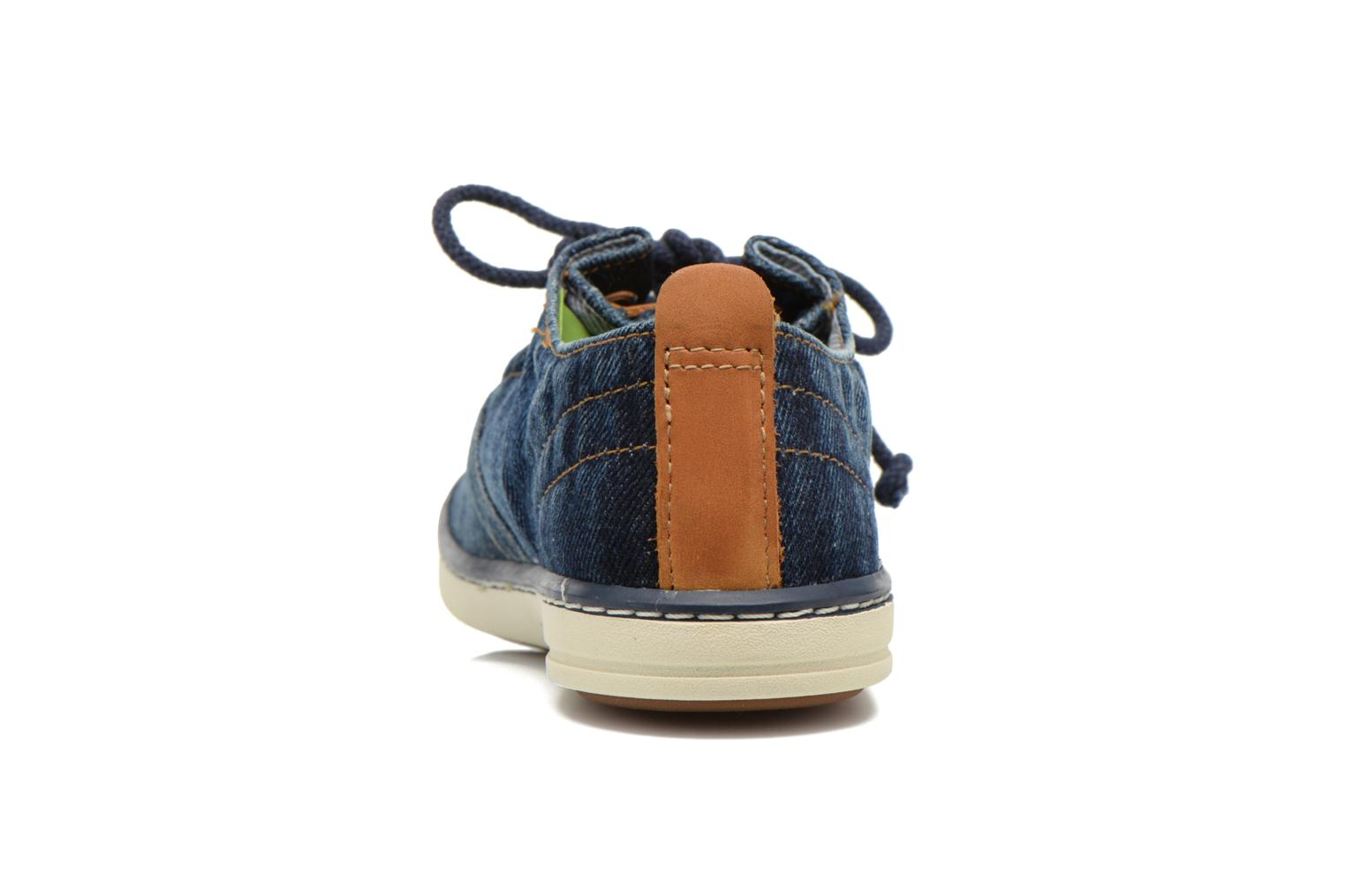 Trainers Timberland Hookset Handcrafted Ox Blue view from the right