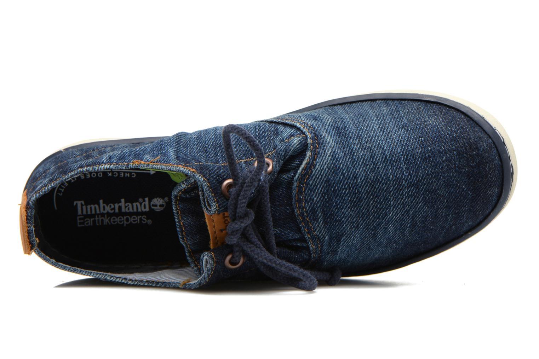 Baskets Timberland Hookset Handcrafted Ox Bleu vue gauche