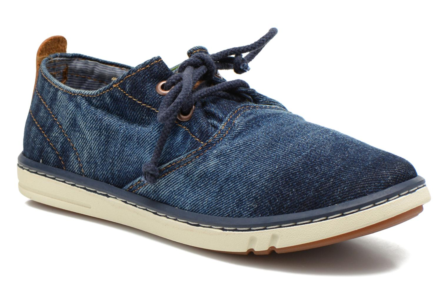 Trainers Timberland Hookset Handcrafted Ox Blue detailed view/ Pair view