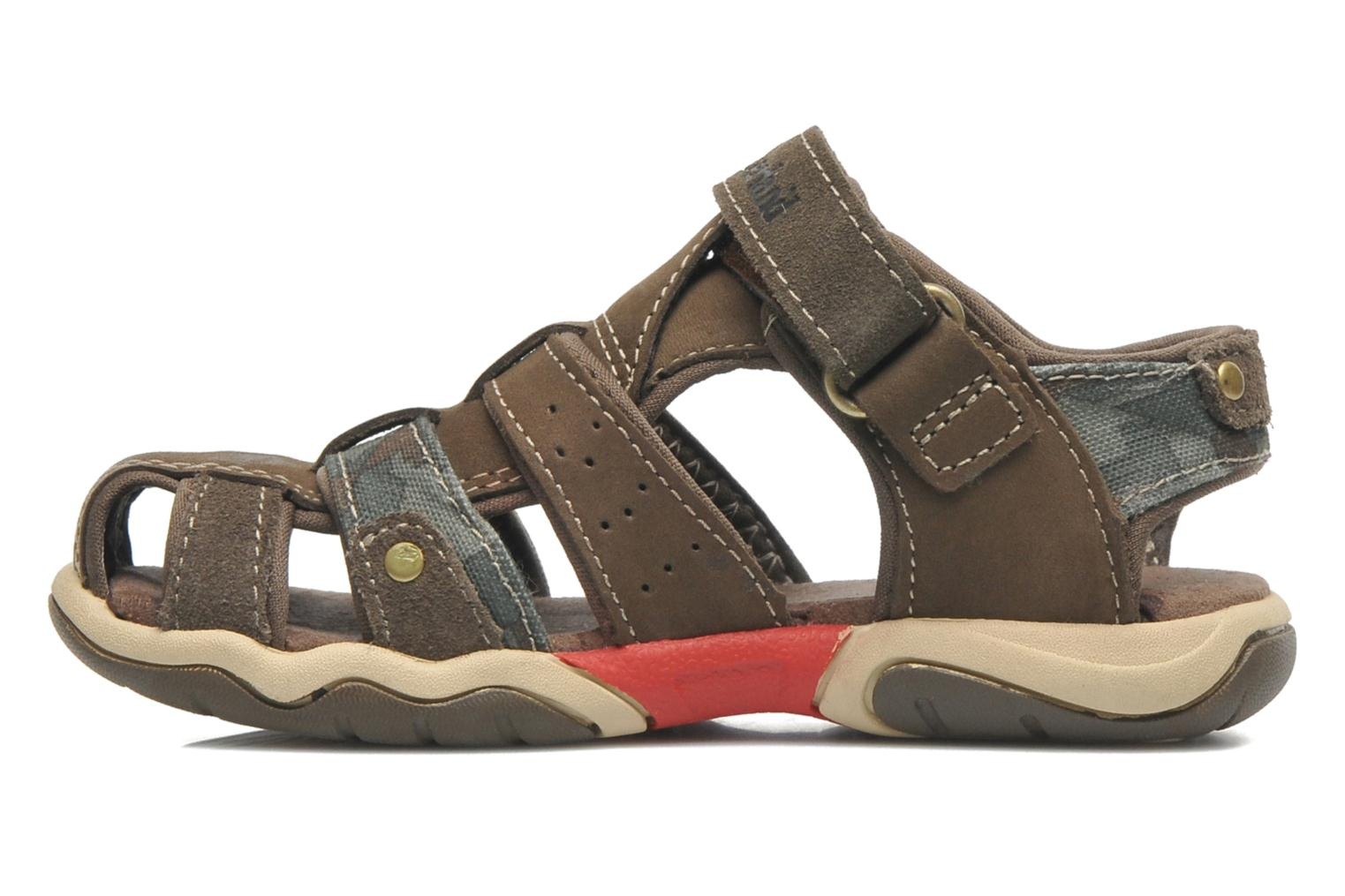 Sandals Timberland PRKHPPREKL/FFSHMNGRG Brown front view