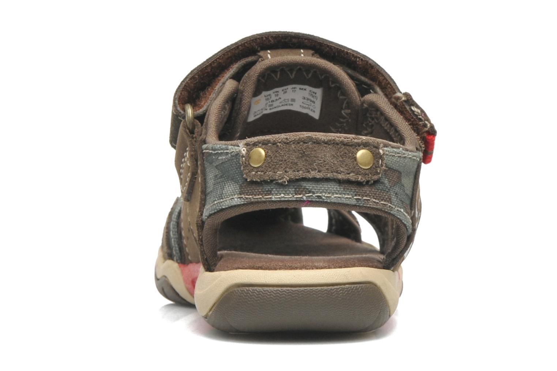 Sandales et nu-pieds Timberland PRKHPPREKL/FFSHMNGRG Marron vue droite