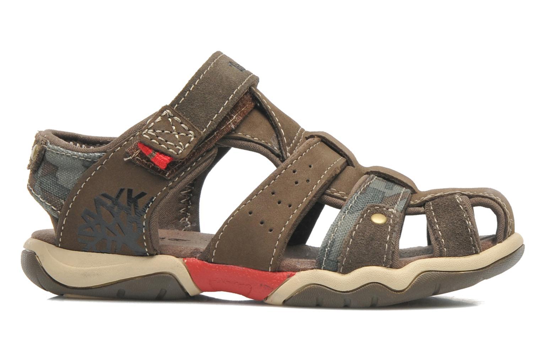 Sandales et nu-pieds Timberland PRKHPPREKL/FFSHMNGRG Marron vue derrière